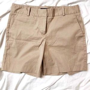 Talbots Petites Khaki Tan Shorts Size 6p